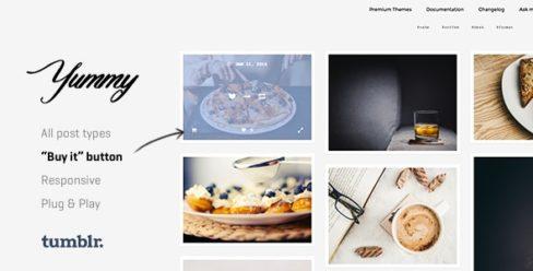 Yummy | Creative Portfolio Tumblr Theme – 14427790