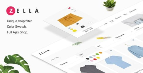 Zella – WooCommerce AJAX WordPress Theme – RTL support – 22688180